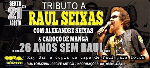 AGENDA DE SHOWS ALEXANDRE SEIXAS (RAUL COVER) /2015