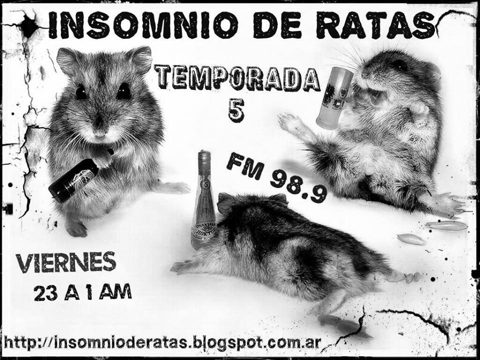 INSOMNIO DE RATAS