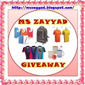 """First MS ZAYYAD Giveaway"""