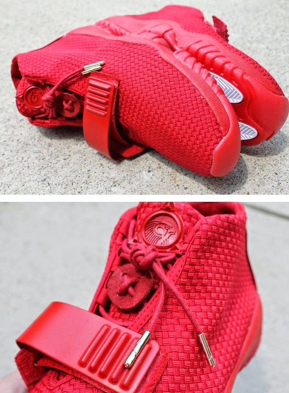 9f642528277e Air Jordan Future x Nike Air Yeezy 2  Red October  Aristat26 Custom Sneaker  (Detailed Images)
