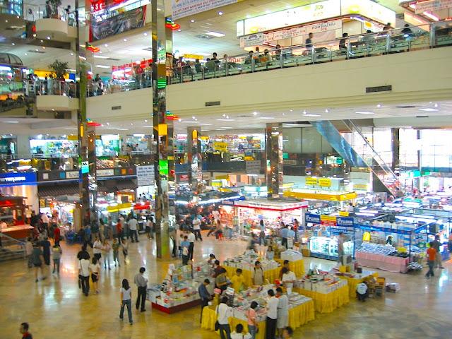 Pantip Plaza in Bangkok Thailand