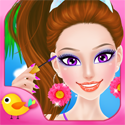 Seaside Salon App iTunes App Icon Logo By Libii Tech Limited - FreeApps.ws