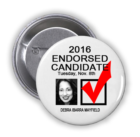 RACE FOR DISTRICT JUDGE, 165TH JUDICIAL DISTRICT -- Debra Ibarra Mayfield