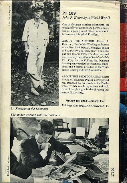 PT 109,  author Robert Donovan was a Washington Bureau Chief