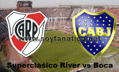 Superclásico River vs Boca 27 de Noviembre 2014