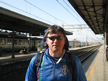 Catching a Train in Italy