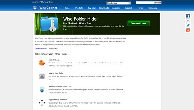 Wise Folder Hider, File and Folder Locker