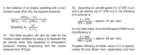 Propulsive Efficiency Propeller Propulsive Efficiencies