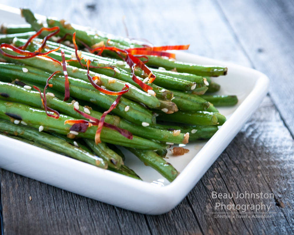 ... sesame garlic ginger green beans recipes dishmaps sesame garlic ginger
