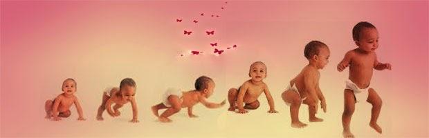 النمو الجسدى للطفل الرضيع