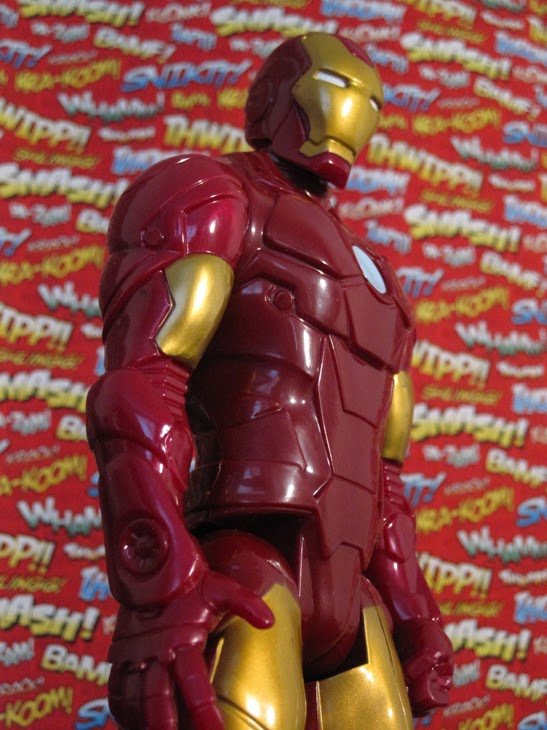 "Marvel 12"" Titan Heroes Avengers Action Figure: Iron Man."