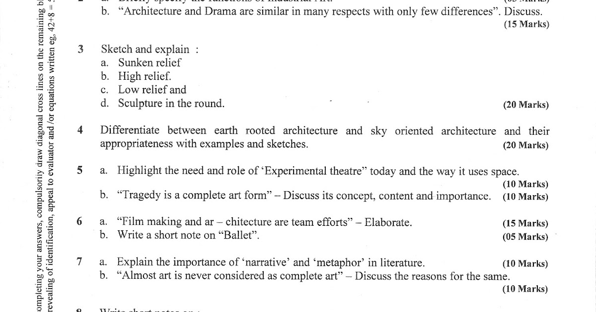 Art appreciation essay