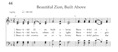 Hymn Beautiful Zion