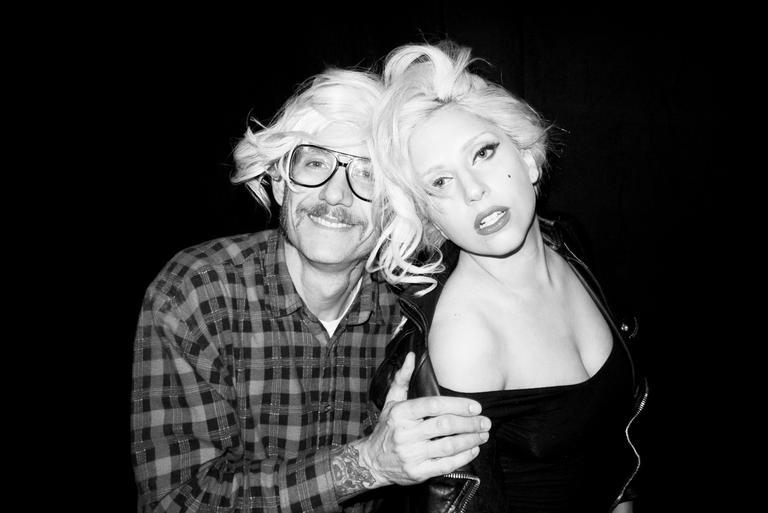 A cantora Lady Gaga e o fotografo Terry Richardson (Foto: Reprodução/Terrysdiary.com)