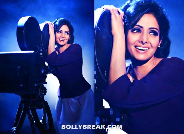 - (5) -  Sridevi's Photoshoot for Filmfare