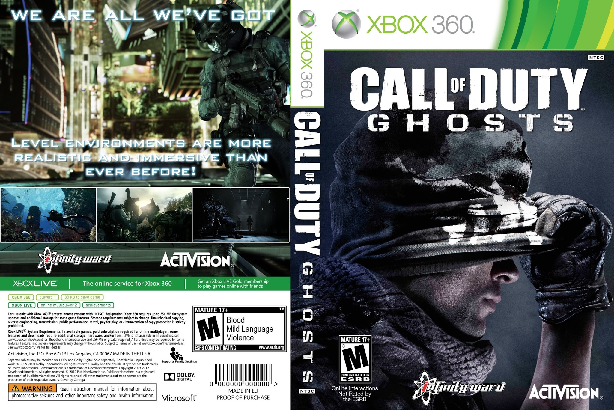 Buy Call of Duty: Ghosts Xbox ONE Xbox - Instant-Gaming.com