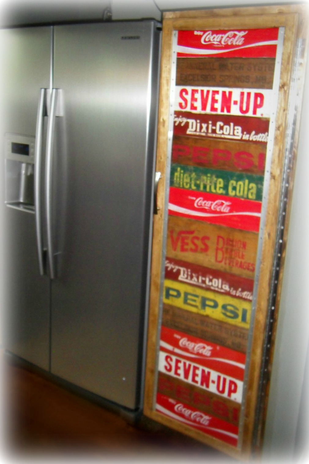Reclaimed and repurposed for Wooden soda crate ideas
