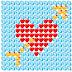 Skype-ի սմայլիկներով պատկեր: Սիրտ