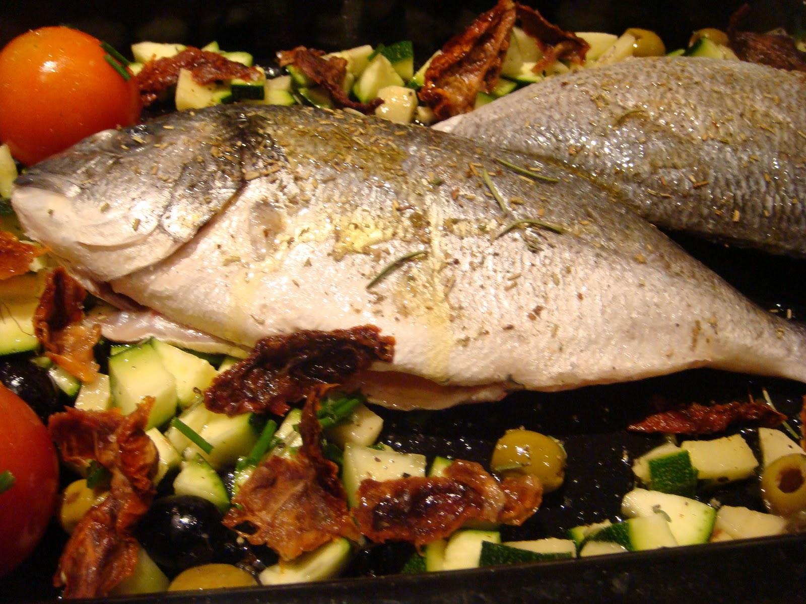 Ricetta pesce alla ligure al forno