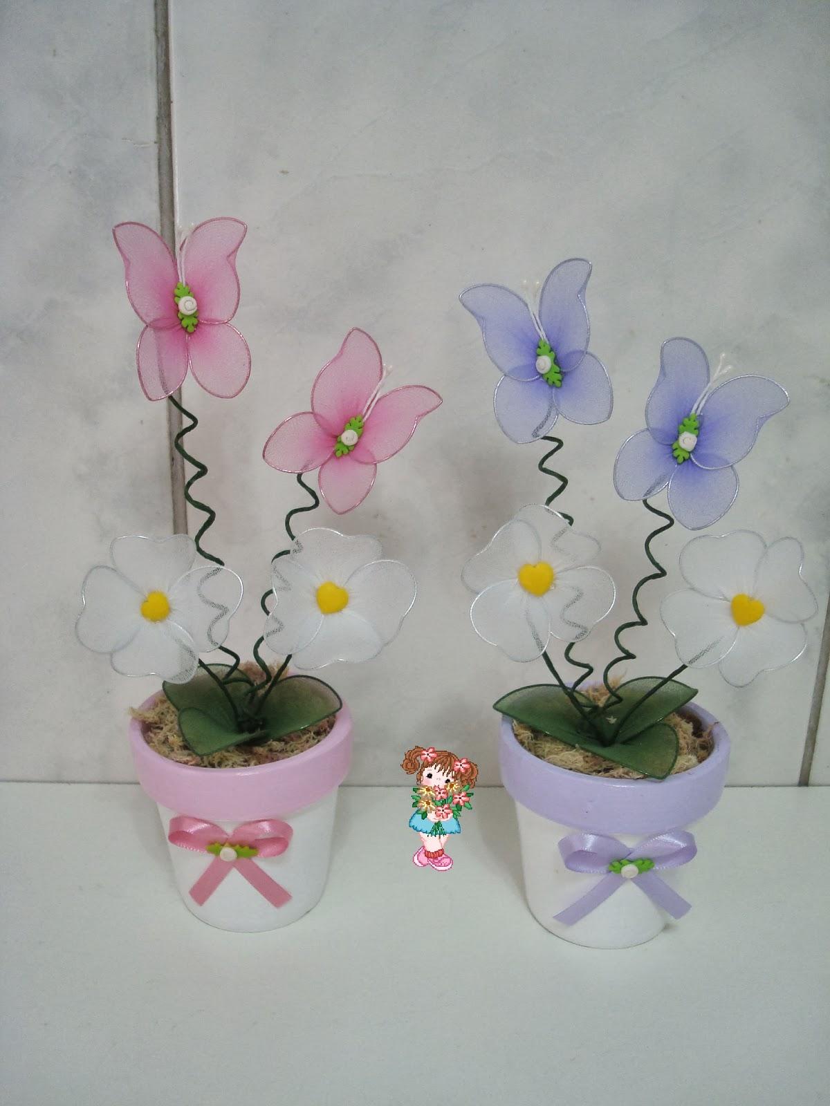 decoracao infantil jardim das borboletas:Enfeite de mesa Jardim das borboletas 2