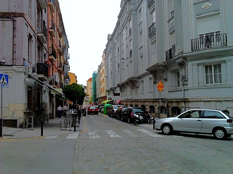 Calle Peña Herbosa en Santander