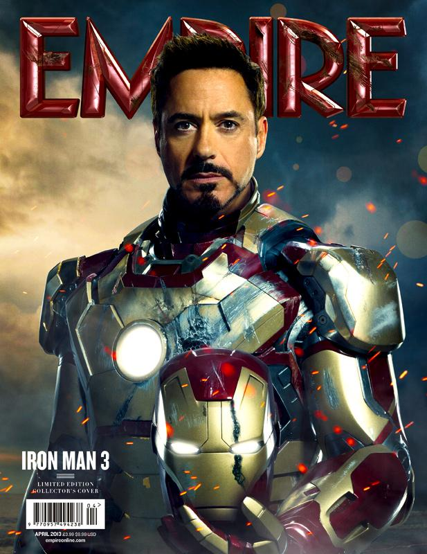 Iron Man 3 en Empire Magazine  Abril 2013