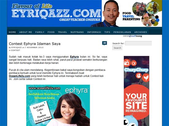 Eyriqazz.com - Blog Padu Tapi Banyak Lompang