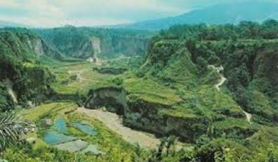 Tempat Objek Wisata Ngarai Sianok Bukittinggi Sumatera Barat ( Sumbar)