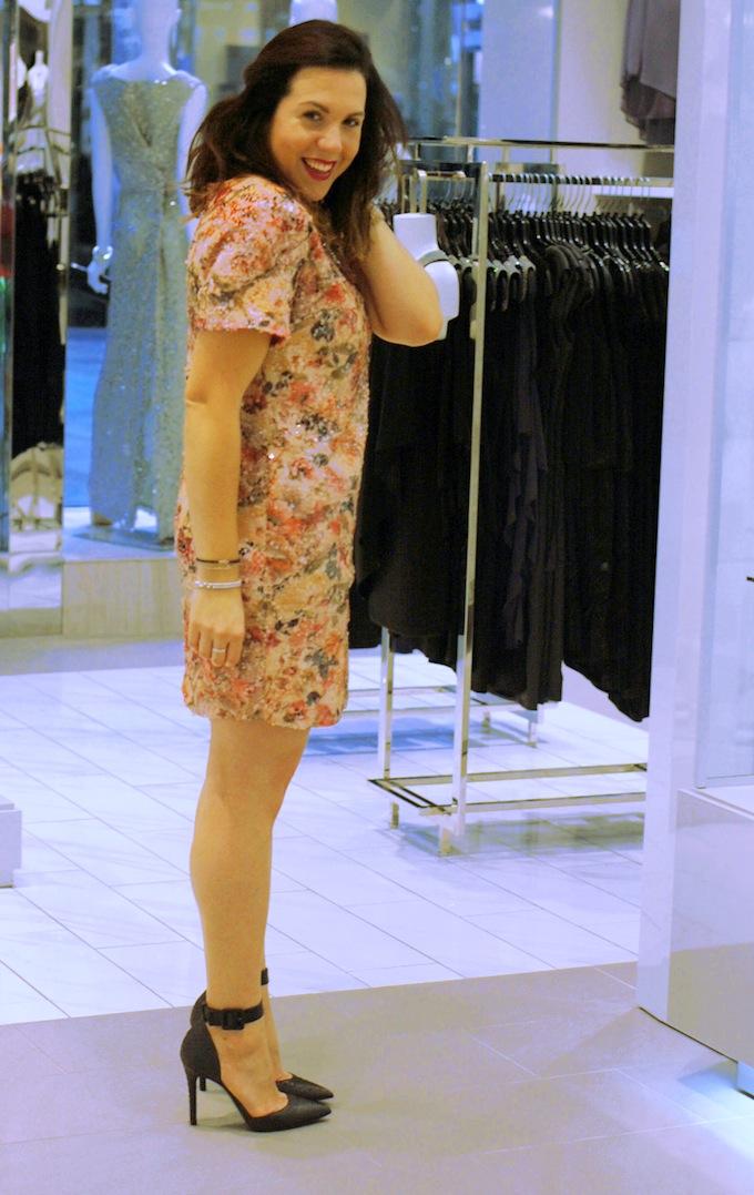 Le Château floral dress Covet and Acquire