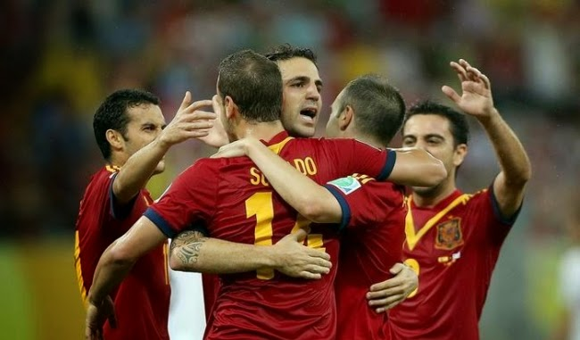 PREVIEW Pertandingan Spanyol vs Bolivia 31 Mei 2014 Dini Hari