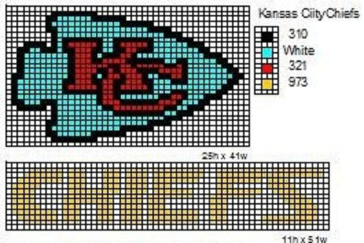 Crochet Fanatic: NFL Logos and Name Plates