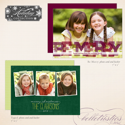 holiday christmas winter photo greeting card custom diy printable print your own belletristics
