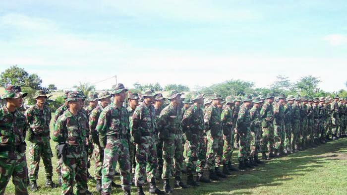 TNI di perbatasan