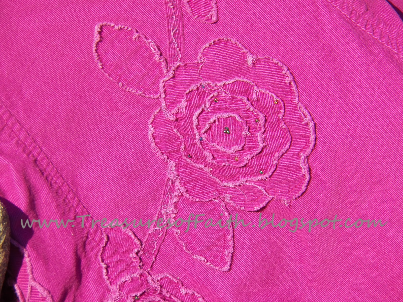 Treasures of Faith Flower Applique Tutorial With Pattern