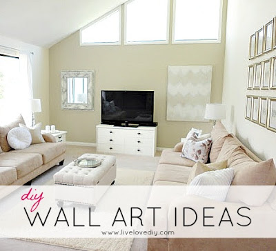 DIY Wall Art Ideas | LiveLoveDIY