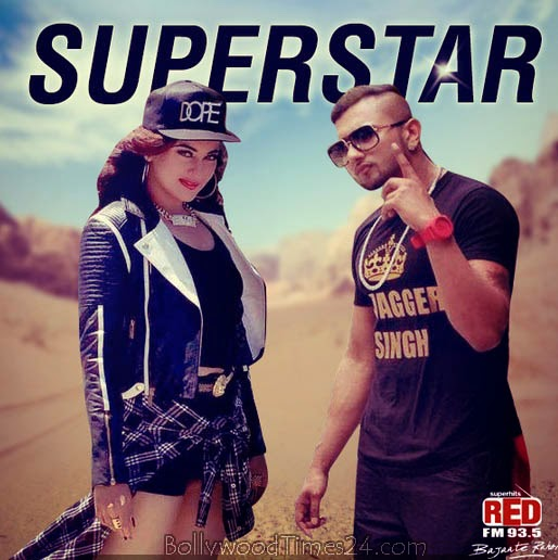 "Sonakshi Sinha's Look in Honey Singh's New Music Video ""Superstar"""
