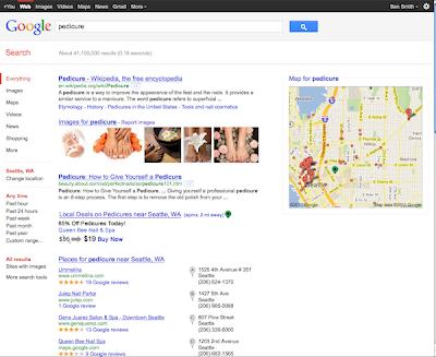 Google SERP Predicure