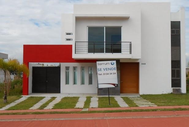 Fachadas minimalistas fachada minimalista modelo ebro en for Casa modelo minimalista