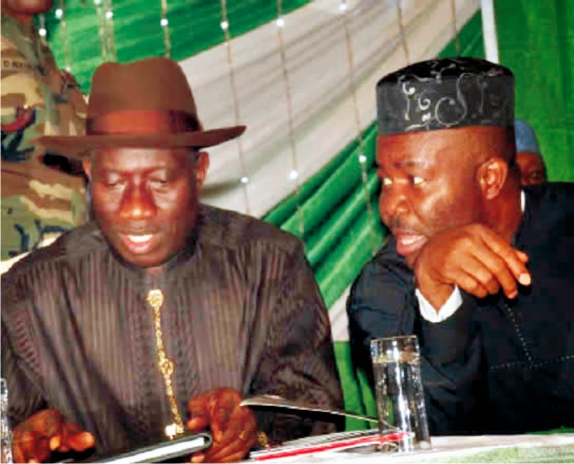 Why Akpabio is angry with President Jonathan BY ETORO-OBONG INYANG.