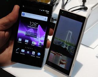 Compare Sony Xperia ION Vs Xperia S