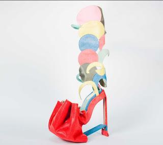 Zapato colorido