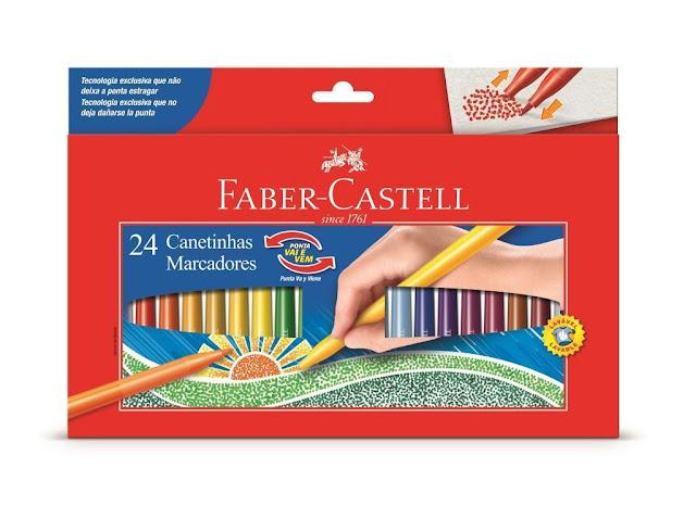 Faber Castell CANETINHA PONTA VAI E VEM