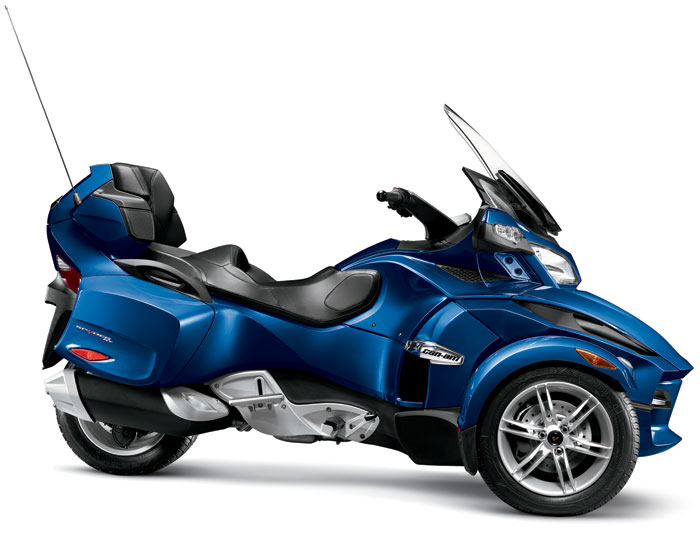 2012 Can-Am Spyder RT Audio & Convenience Review ~ Sport Bikes Review
