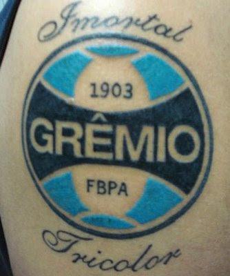 Fotos de tattoos do grêmio
