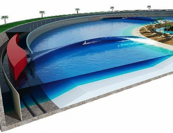 Surfpe piscina de ondas kelly slater wave company for Piscina onda