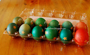 And a beautiful dyed Easter Eggs :) dsc