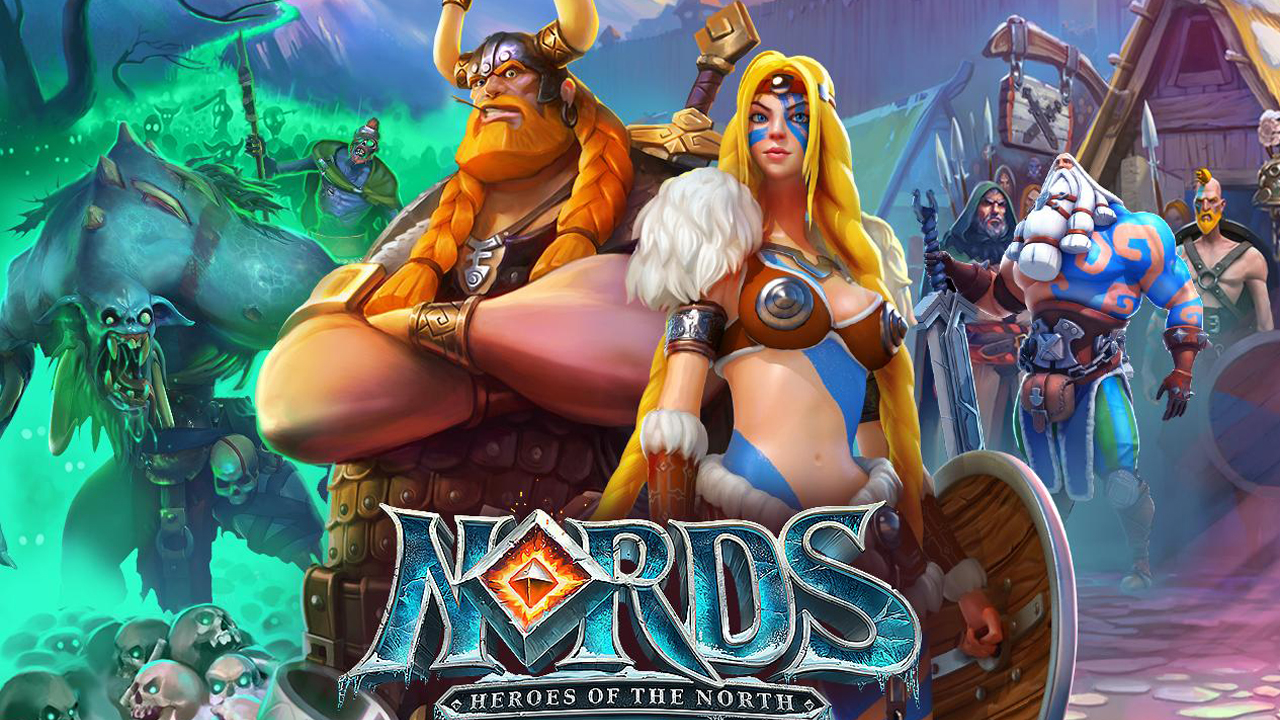 Nords: Heroes of the North Gameplay IOS / Android