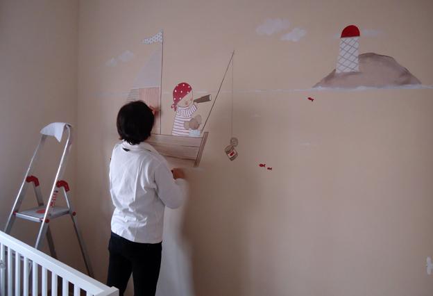 Murales infantiles pintados a mano murales infantiles de - Paredes pintadas infantiles ...