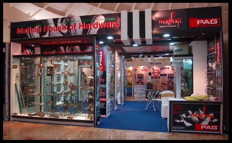 Hardware Exhibition Stall : Pag the complete hardware resource mangalore exhibition
