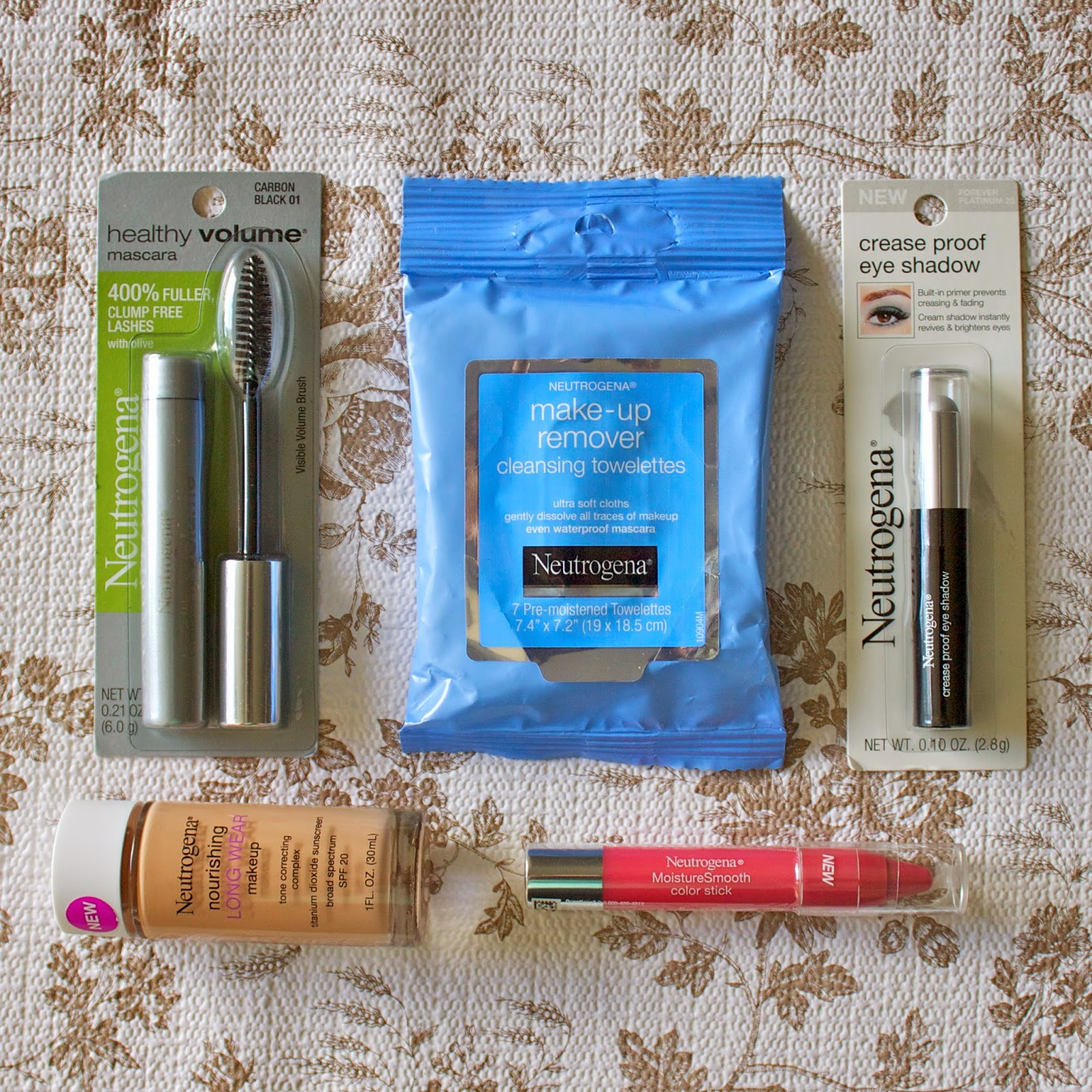My favorite neutrogena products, neutrogena nourishing long wear liquid make up